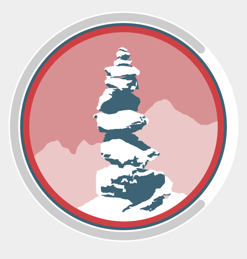 web design clip art, Cartoons - Cairn Logo - Illustration