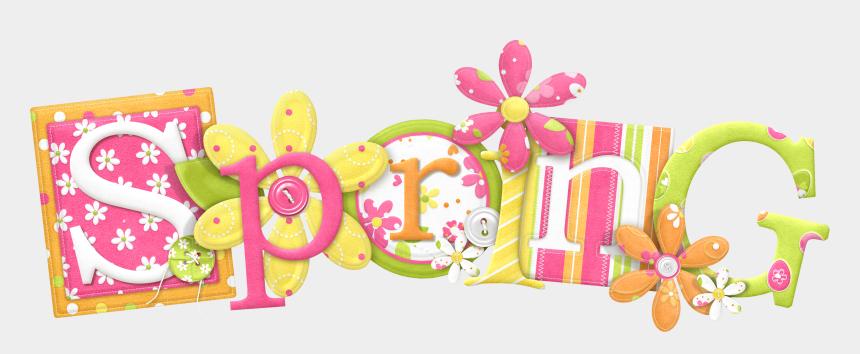 four seasons clip art, Cartoons - Spring Blog Clip Art - Spring Transparent Background