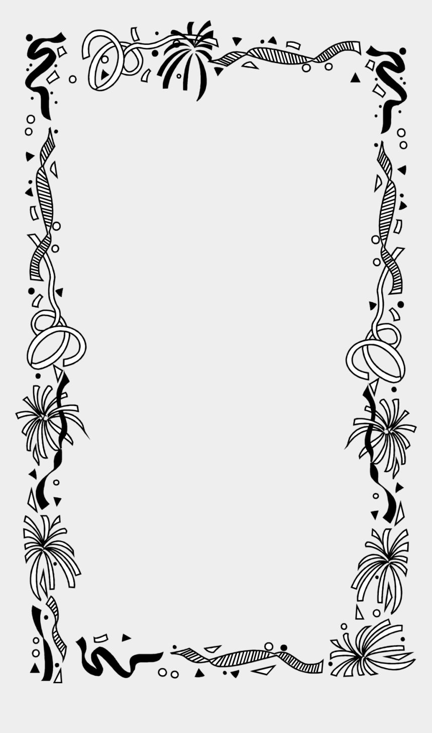 birthday clip art borders, Cartoons - Borders And Frames Picture Frames Drawing Clip Art - Border Birthday Frame Png