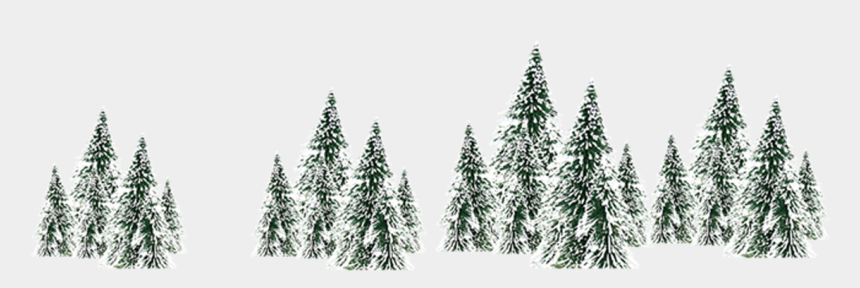snow scene clip art, Cartoons - Winter Snow Spruce Tree - Tree