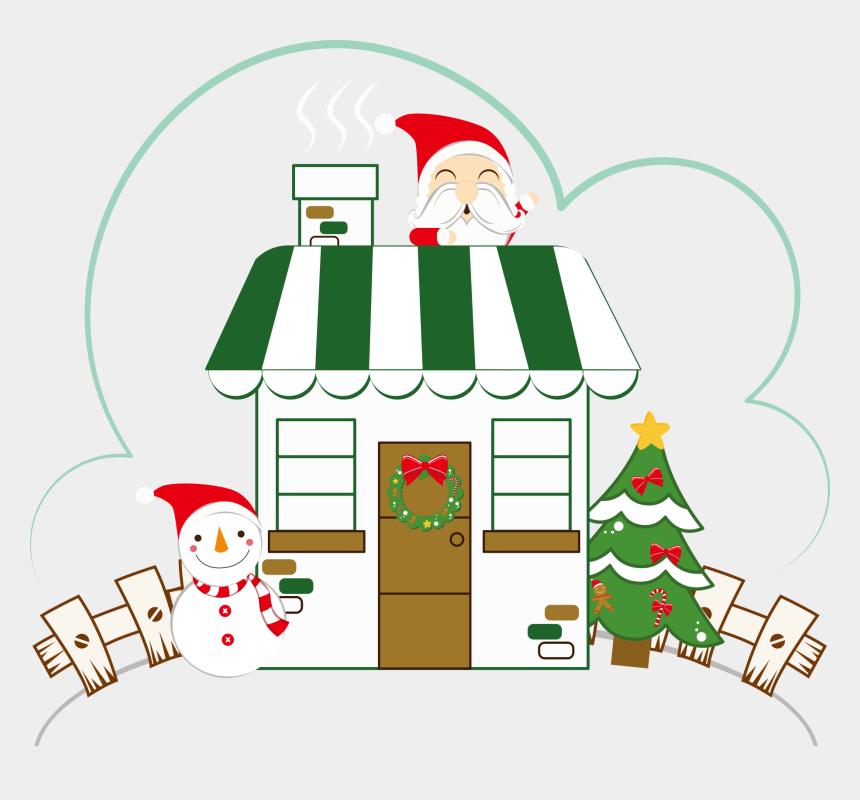 christmas houses clip art, Cartoons - Cartoon