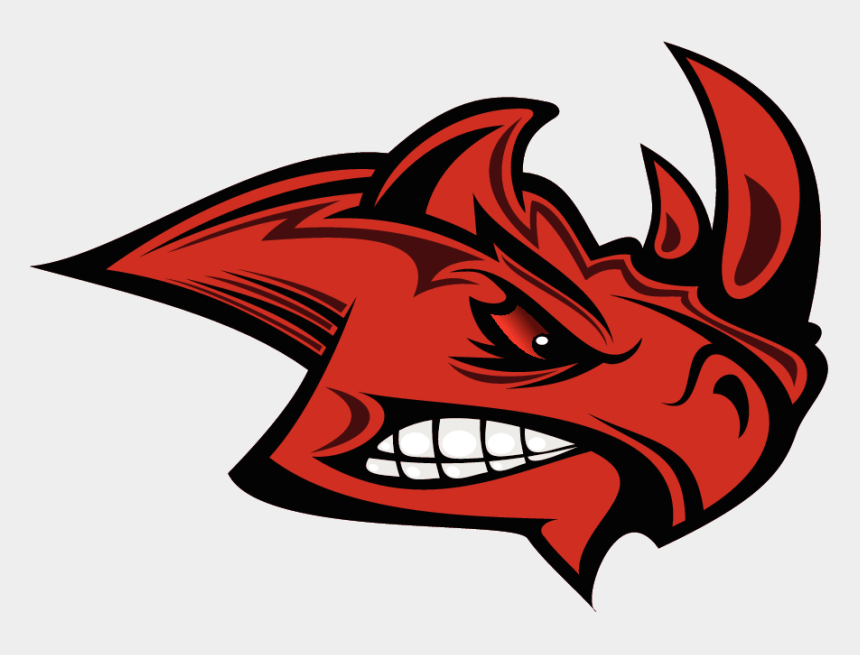 strong man clip art, Cartoons - Fantasy Football Rhino Logo