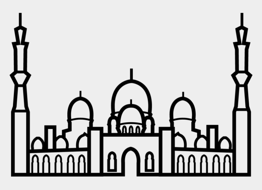 mosque clip art, Cartoons - Sheikh Zayed Mosque Icon