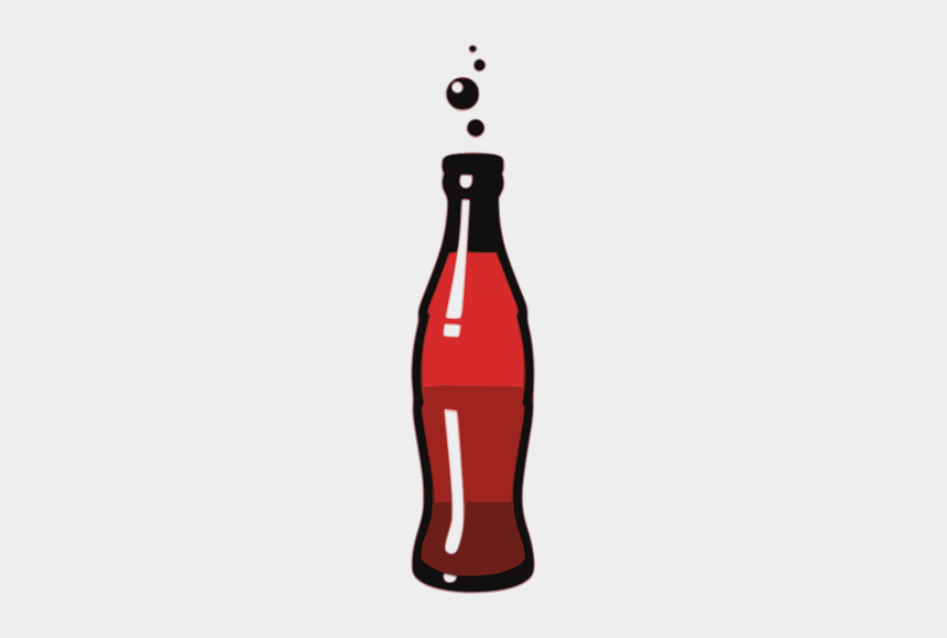 soft drink clip art, Cartoons - Bottle Of Soda Drink Vector Graphics - Clip Art Soda Bottle