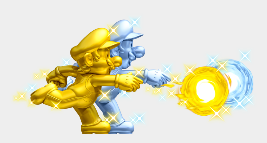 mario kart clip art, Cartoons - New Super Mario Bros 2 Gold Mario
