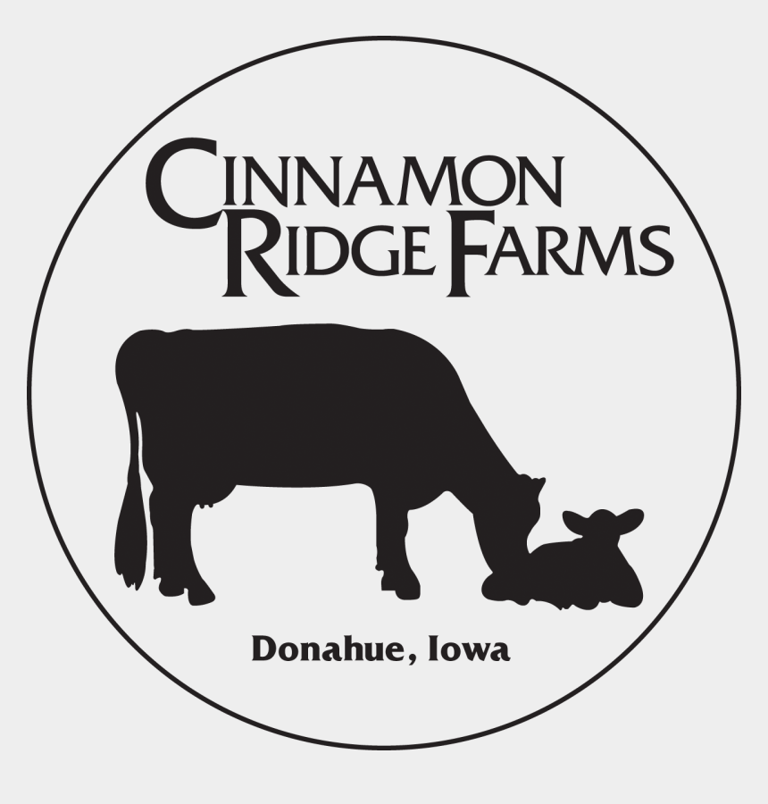 milking a cow clipart, Cartoons - Cinnamon Ridge Farms Logo - Cinnamon Ridge Farms