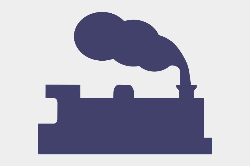 train silhouette clip art, Cartoons - Silhouette Of Steam Train