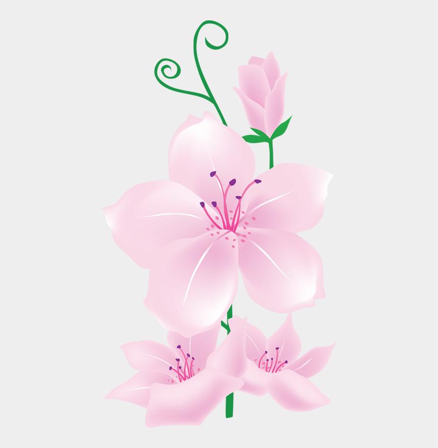 light pink flower clip art, Cartoons - Pink Flower Pattern Design Png