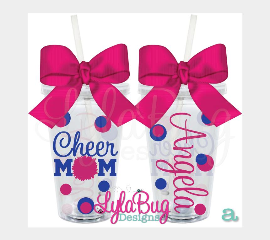 cheer mom clip art, Cartoons - Cheer Mom Tumbler - Christmas Gift Ideas For Teacher Aides
