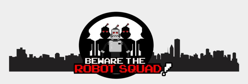 yoda face clip art, Cartoons - Beware The Robot Squad - Gotham City Skyline Clipart