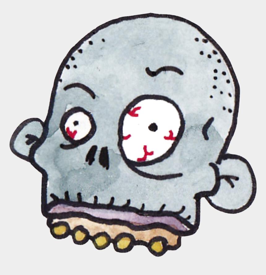 zombie head clip art, Cartoons - Zombie Heads Surviving The