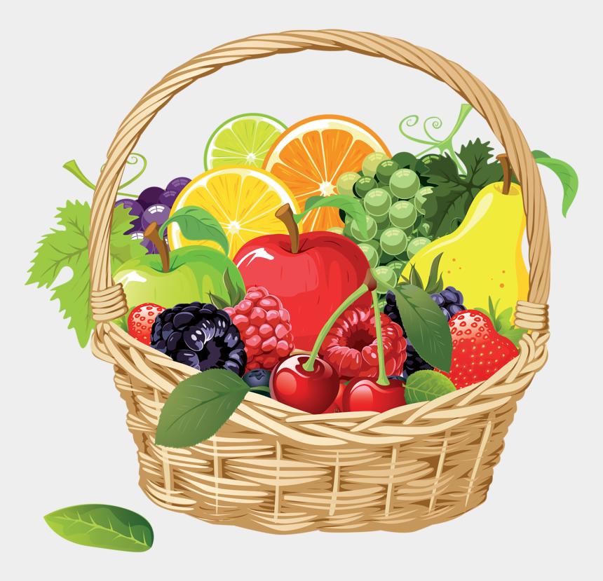 fruit clipart, Cartoons - Фото, Автор Soloveika На Яндекс - Fruits Basket Clip Art