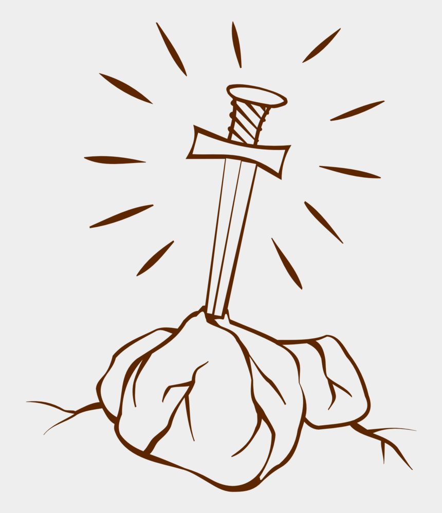 king clipart, Cartoons - Fonts Drawing King - Sword In Stone Drawing