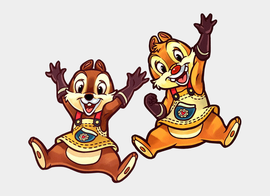 river clipart, Cartoons - Kingdom Hearts Clipart - Chip And Dale Kh