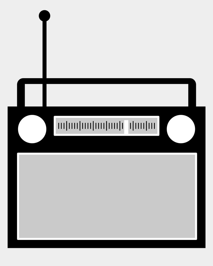radio clipart, Cartoons - Simple Radio By @aj, Radio Set Logo - Transparent Radio Clip Art