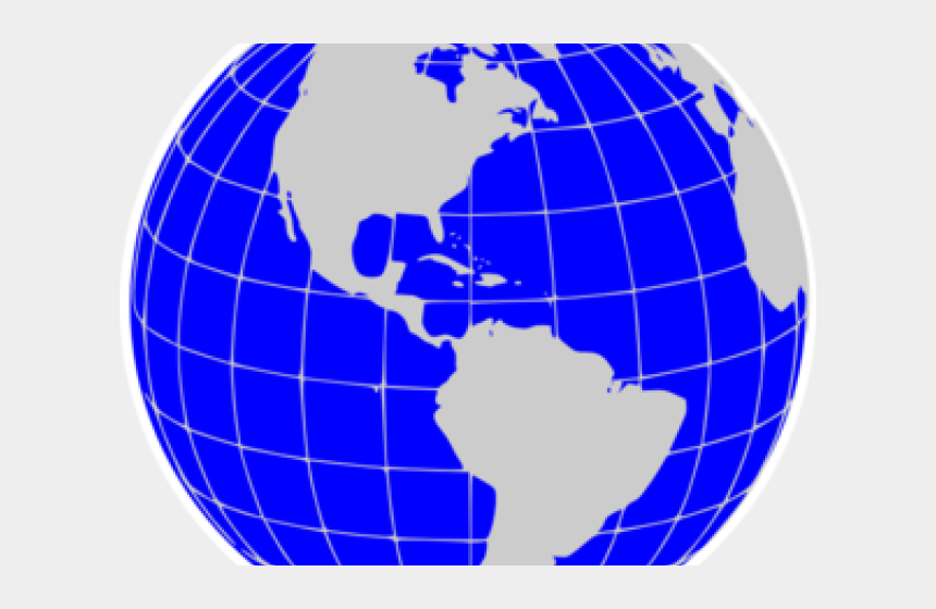 globe clipart, Cartoons - Animated Globe Clipart - Silhouette Black And White Globe
