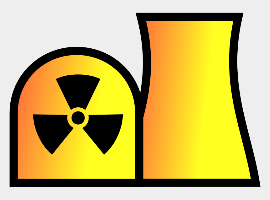 plant clipart, Cartoons - Nuclear Power Plant Clipart - Nuclear Power Station Symbol