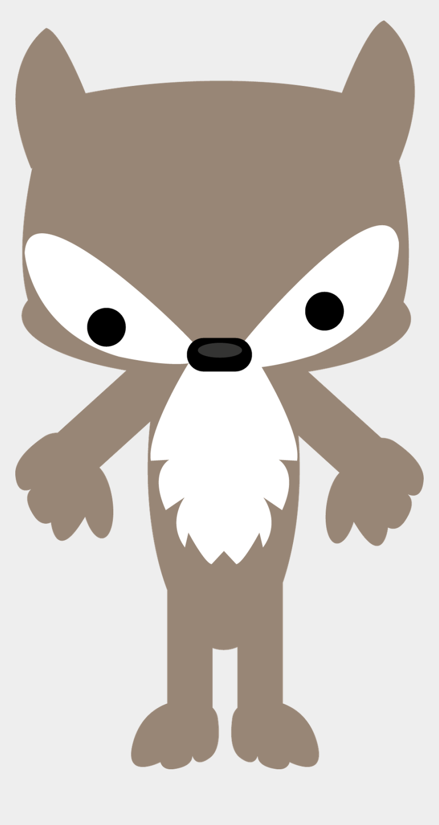 wolf clipart, Cartoons - Little Red Riding Hood Wolf Clipart - Cute Little Red Riding Hood Wolf