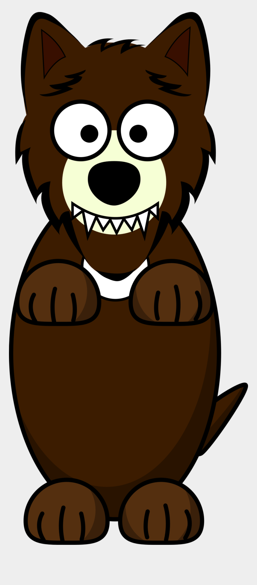 wolf clipart, Cartoons - Clipart - Cartoon Wolf - 3 Little Pigs Wolf