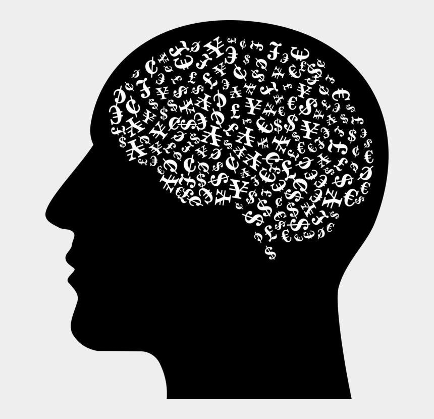 skull clipart, Cartoons - Human Brain Human Head Skull - Human Head Silhouette