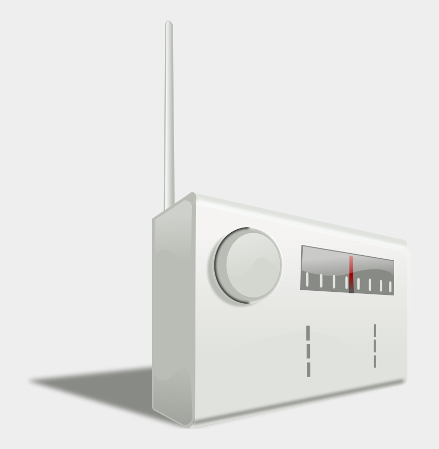 radio clipart, Cartoons - Radio Clip Art