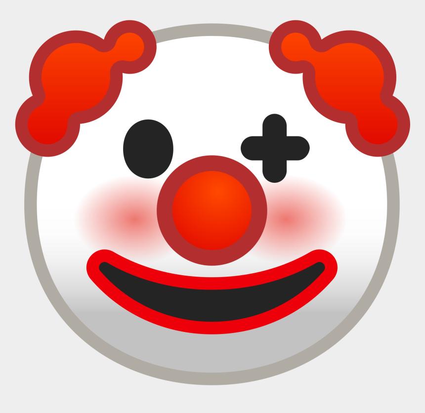 clown clipart, Cartoons - Clown Face Png Svg - Clown Face Emoji Png