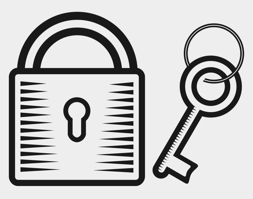 key clipart, Cartoons - Padlock And Key Clipart - Lock And Key Clipart