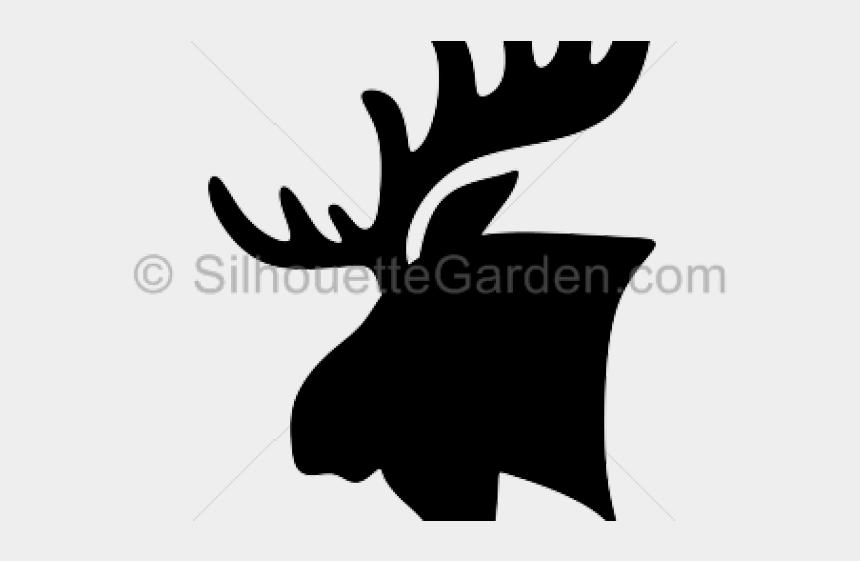 moose clipart, Cartoons - Moose Clipart Moose Head - Illustration
