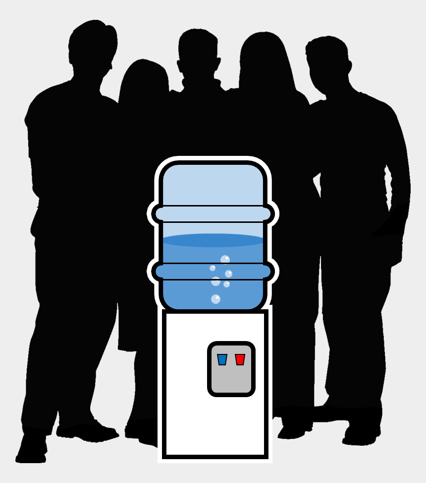 meeting clipart, Cartoons - Office Clipart Meeting - Meeting At The Water Cooler
