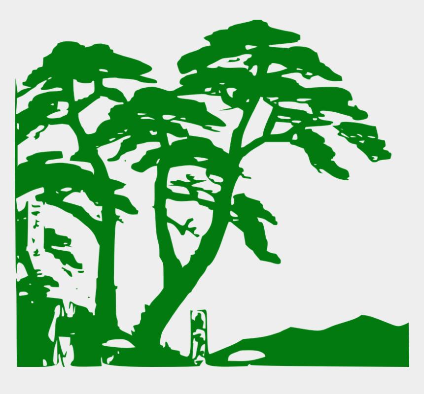 jungle clipart, Cartoons - Jungle Trees Clip Art