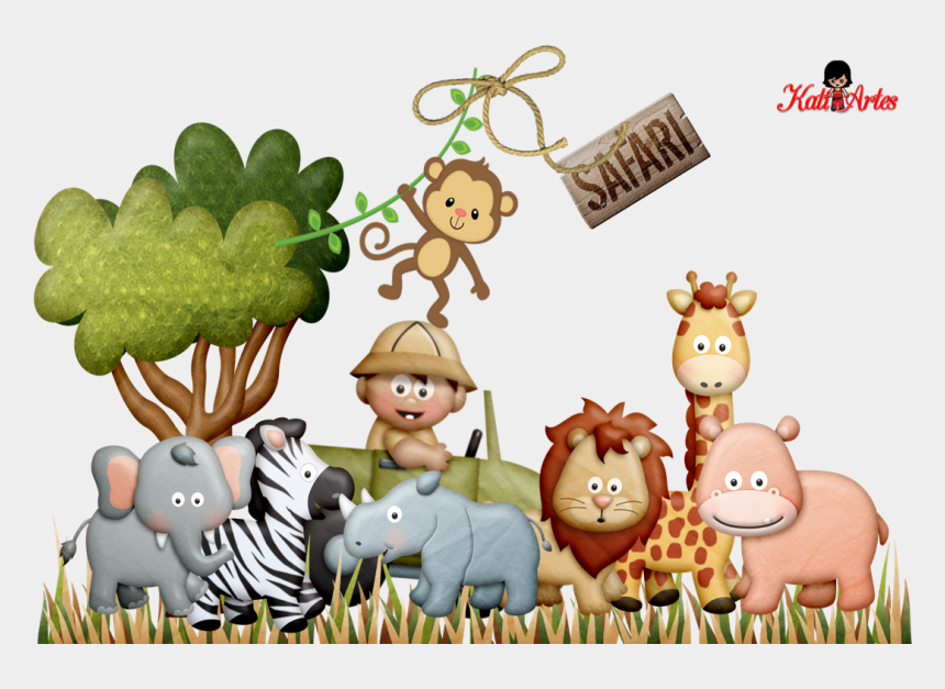jungle clipart, Cartoons - Jungle Clipart, Cute Clipart, Fiesta Safari, Safari - Super Homem