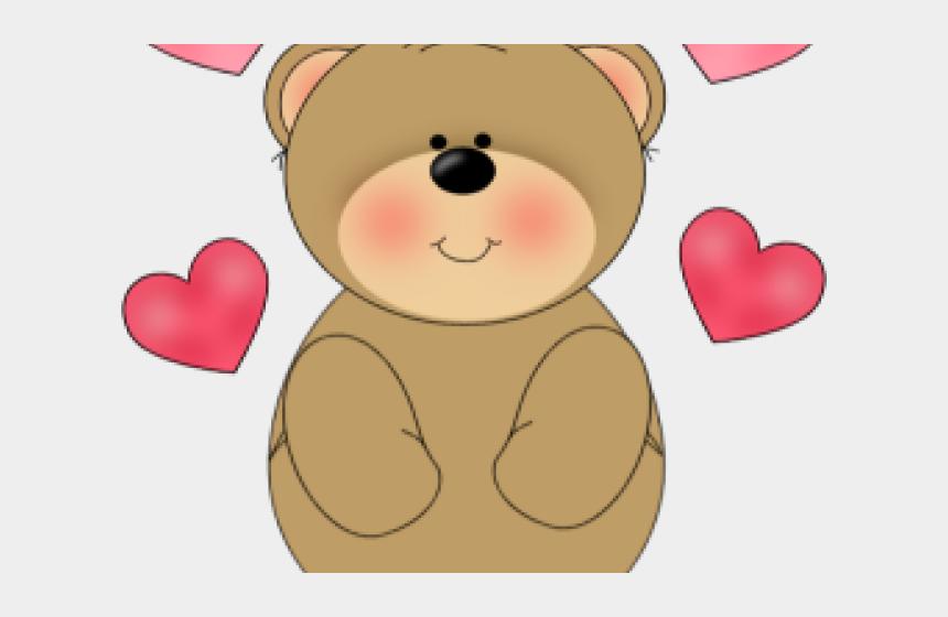 love clipart, Cartoons - Love Clipart Bear - Teddy Bear Valentines Day Clip Art