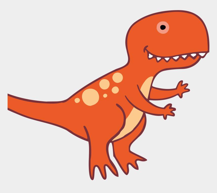 dinosaur clipart, Cartoons - Dinosaur Clipart , Png Download - Gambar Kartun Dinosaurus