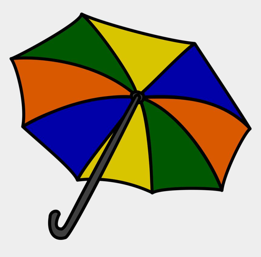umbrella clipart, Cartoons - Colorful Umbrella Clip Art - Umbrella Clip Art