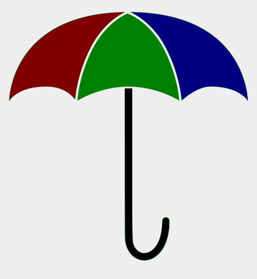 umbrella clipart, Cartoons - Umbrella Clipart Colorful Umbrella - Guarda Chuva Desenho Colorido
