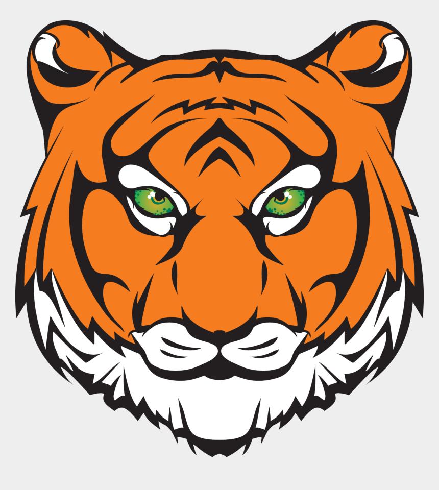 tiger clipart, Cartoons - Clipart Football Tiger - Princeton High School Mn Tigers