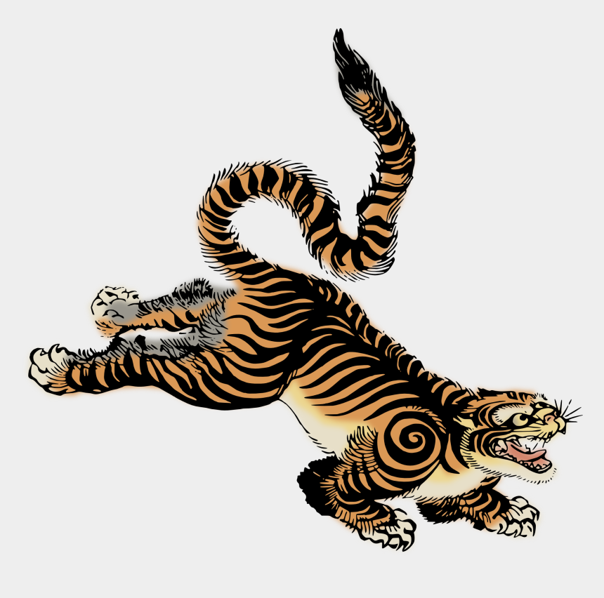 tiger clipart, Cartoons - Tiger Clipart Vintage - Vintage Tiger