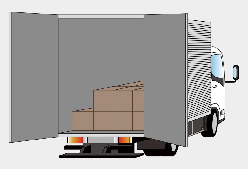 truck clipart, Cartoons - Keys Clipart Truck - Rear Of Delivery Truck