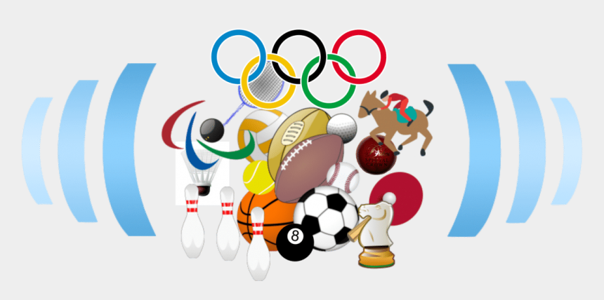 sports clipart, Cartoons - View Larger Image - Olympic Rings