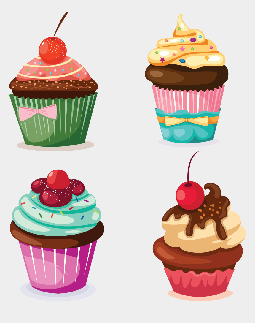 happy birthday cupcake clip art, Cartoons - Happy Birthday Wallpaper Mobile Clipart , Png Download - Phone Wallpaper Happy Birthday