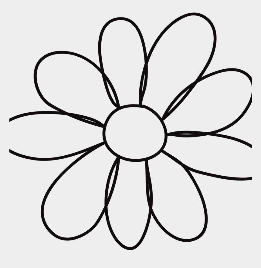 quilting clipart black and white, Cartoons - Petal Flower Template - Things To Draw That Are Creative