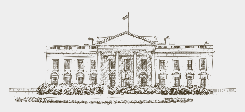 whitehouse clip art, Cartoons - White House Euclidean Vector Icon - White House Drawing Transparent