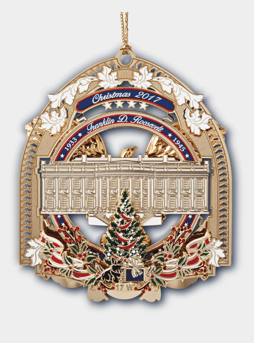 whitehouse clip art, Cartoons - 2017 White House Christmas Ornament Back - 2017 White House Christmas Ornament