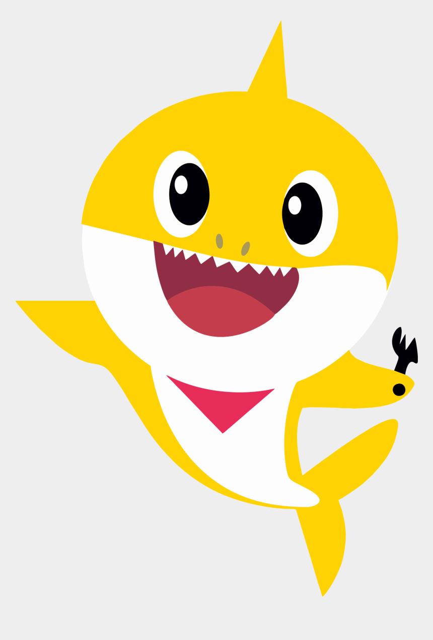 shark mouth clip art, Cartoons - Baby Shark Png Images Transparent Background - Pinkfong Baby Shark Yellow
