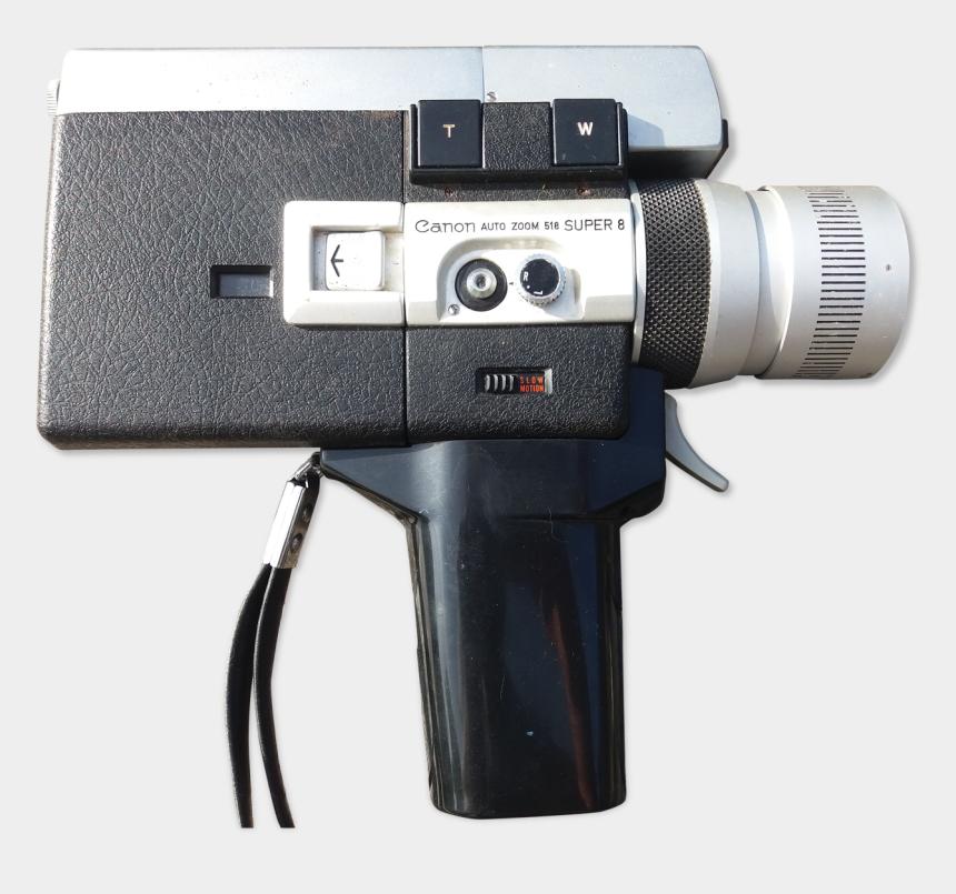 "vintage canon camera clip art, Cartoons - Camera Vintage Super 8 Canon Auto Zoom 518""  Src=""https - Video Camera"