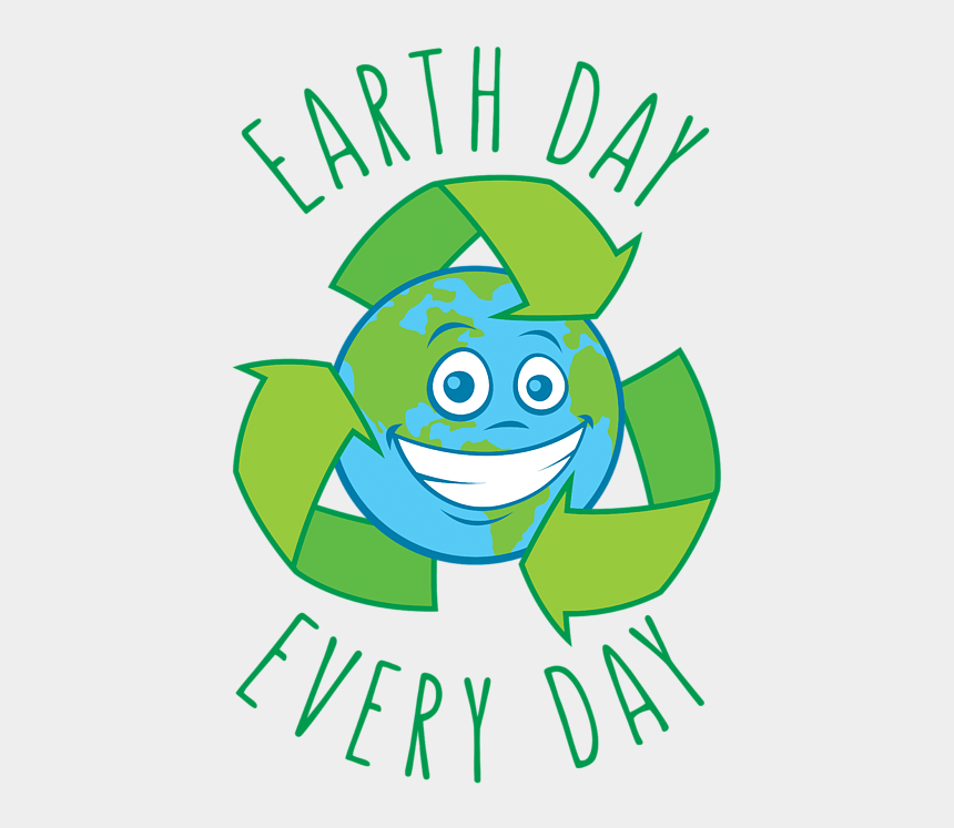 happy earth day clip art, Cartoons - Draw Recycling Sign Around The Earth Cartoon