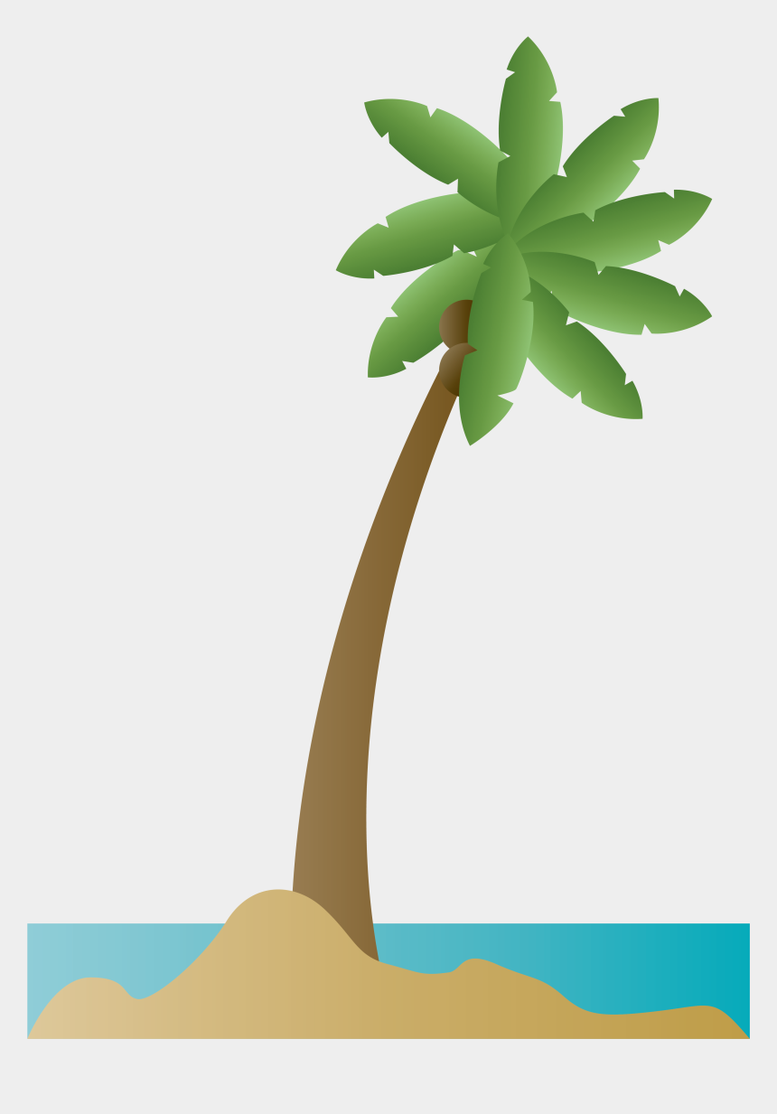 palm tree island clip art, Cartoons - Coconut Tree Drawing Png