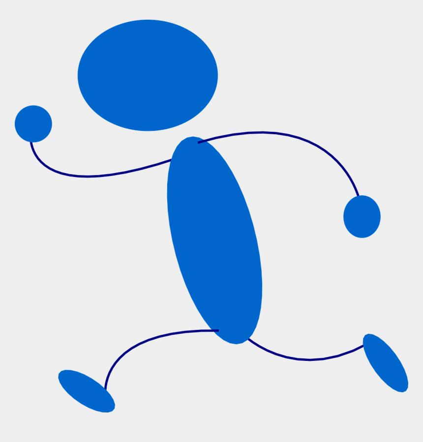 free clip art stick figures, Cartoons - Stick Figure Stickman Runner Free Picture - Running Clip Art