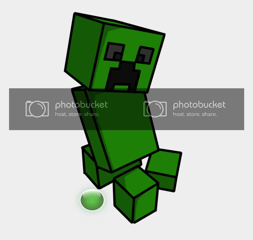 minecraft creeper clip art, Cartoons - Cartoon Creeper