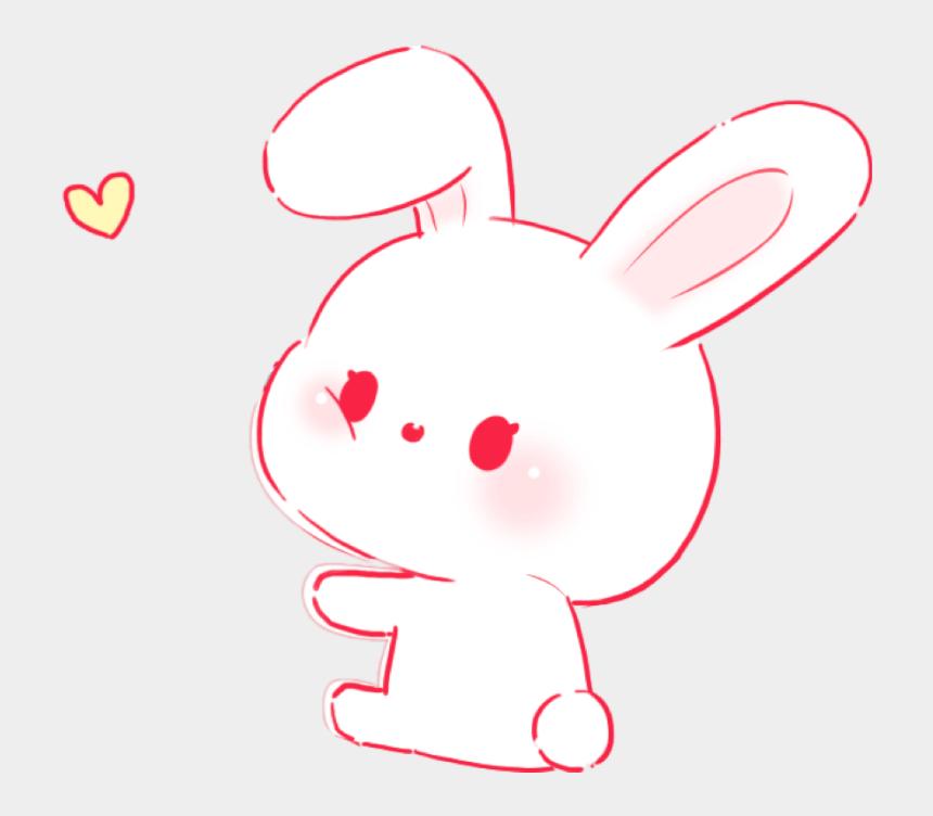 cute bunny clip art, Cartoons - #rabbit #bunny #pink #cute #soft #aesthetic #pastel - Cuteness